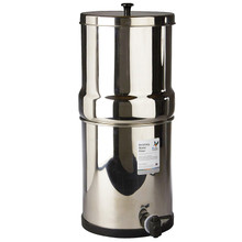 British Berkefeld SS2 Stainless Steel Table Top Filter System