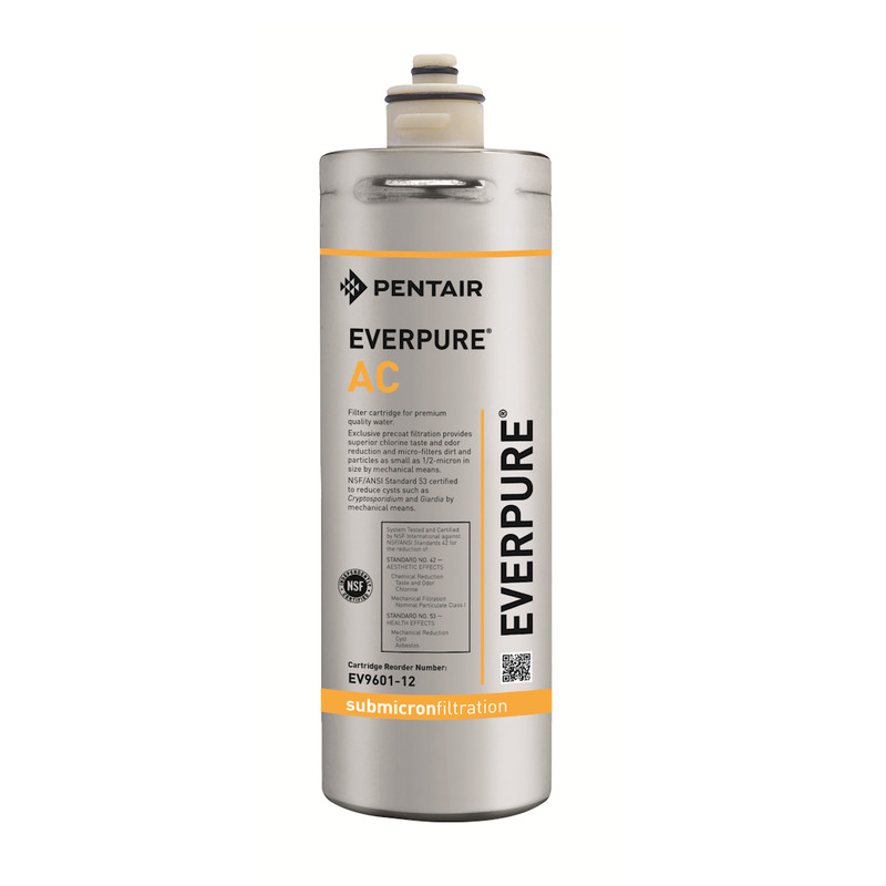 Pentair everpure ac water filter cartridge ev960112 for Pentair everpure