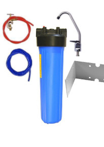 """Nitrate Removal System (Medium Under-sink) 20"""" Housing"""