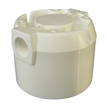"Omnipure 3/8"" Female Port Valved Head for ""Q"" Series"