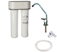 Complete Doulton Duo Fluoride Removal Kit with Installation Kit and Standard Faucet Tap
