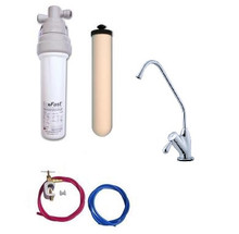 Doulton Ecofast Housing With Ultracarb and Full Installation Kit and Heavy Duty Tap