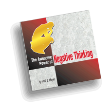 The Awesome Power of Negative Thinking