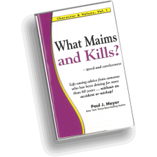 Character and Values, Vol. 1 - What Maims and Kills? (pack of 10 booklets)