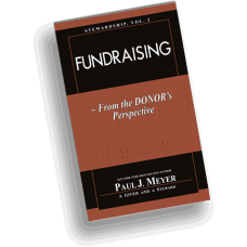 Stewardship, Vol. 2 - Fundraising ... From the Donor's Perspective (pack of 10 booklets)