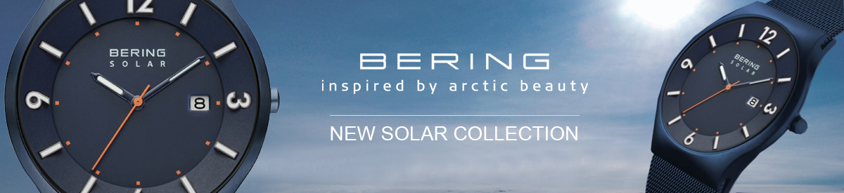 Shop Bering Solar Mens Watches