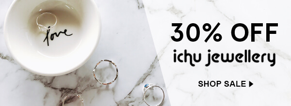 Enjoy 30% off Ichu Jewellery