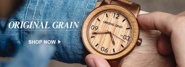 Shop Original Grain Watches