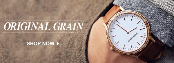 Shop Original Grain Watches