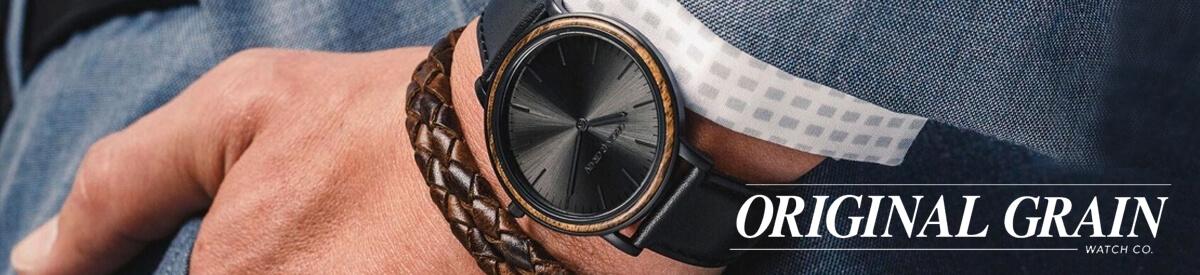 Shop Original Grain Wooden Watches