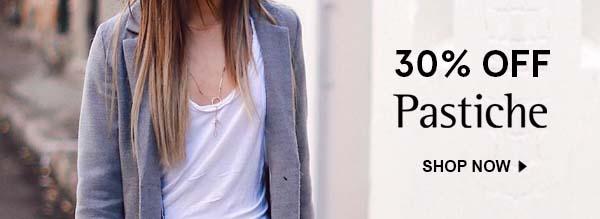 Enjoy 30% off Pastiche Jewellery