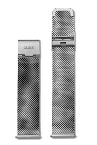 Cluse La Bohème Watch Strap Mesh Silver CLS045