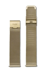 Cluse Minuit Mesh Gold Womens Watch Strap CLS346