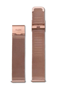 Cluse Minuit Mesh Rose Gold Womens Watch Strap CLS347