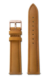 Cluse La Bohème Womens Leather Watch Strap Caramel/Rose Gold CLS003