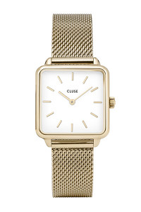 Cluse La Garconne Gold Mesh Watch CL6002