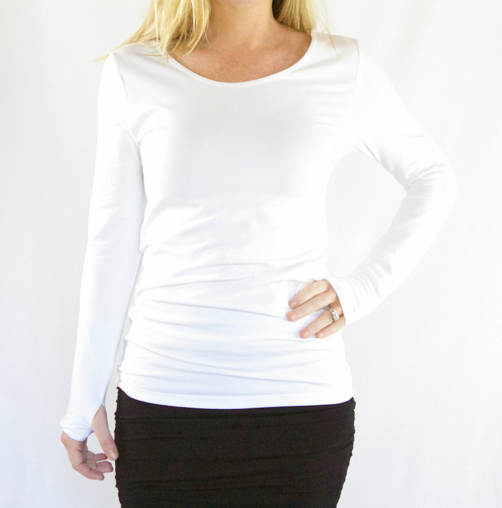 On Top® by HYH: Slim Fit Long Sleeve Top