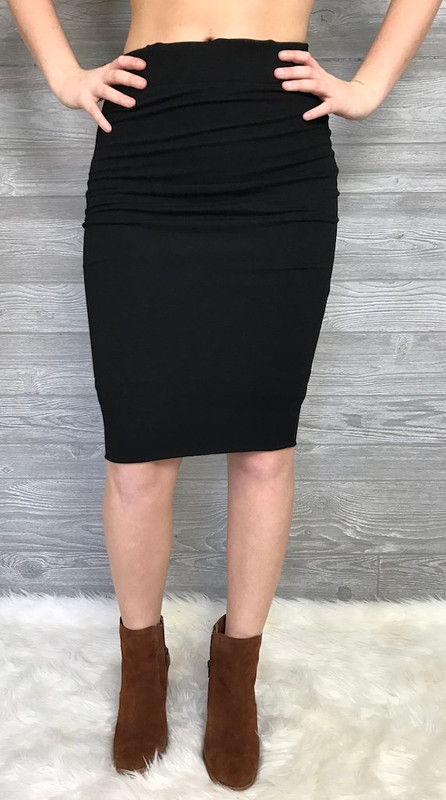 Skinny Pencil Skirt