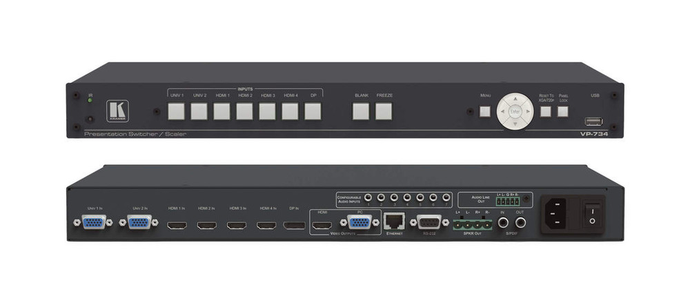 Kramer VP-734 Presentation switcher scaler (VP-734)