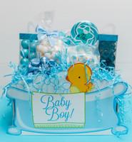 Baby Boy Basket