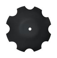 "16"" x 4.5mm Notched Raised Crimp Center Disc Blades (DNF084559)"