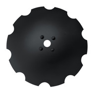 "28"" x 8mm Notched Dimple Disc Blades to Fit Rome (DNR188006)"
