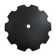 "32"" x 10mm Notched Disc Blades Rome Dimple (DNR201048)"