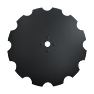 "34"" x 10mm Notched Dimple Disc Blades to Fit Rome (DNR241048)"