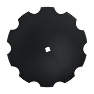 "24"" x 5mm Notched Disc Blades Standard Concavity (DN155005)"