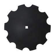 "24"" x 8mm Notched Disc Blades Standard Concavity (DN158005)"