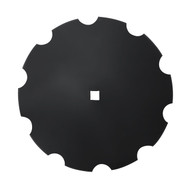 "26"" x 6.5mm Notched Disc Blades Standard Concavity (DN176505)"