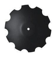 "22"" x 6mm Notched Raised Crimp Center Disc Blades (DNF136061)"
