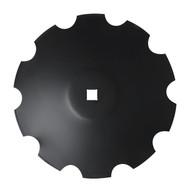 "28"" x 8mm Notched Raised Crimp Center Disc Blades (DNF188061)"