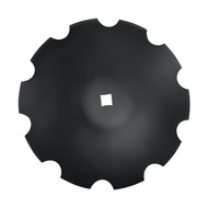 "32"" x 8mm Notched Raised Crimp Center Disc Blades (DNF208052)"