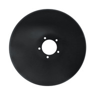 "22"" x 6.5mm DMI 5 Bolt Pattern Smooth Raised Crimp Center Disc Blades (DSF136552)"