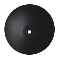 "22"" X 6mm Smooth Raised Crimp Center Disc Blades (DSF136061)"