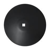 "28"" x 8mm Smooth Raised Crimp Center Disc Blades (DSF188061)"