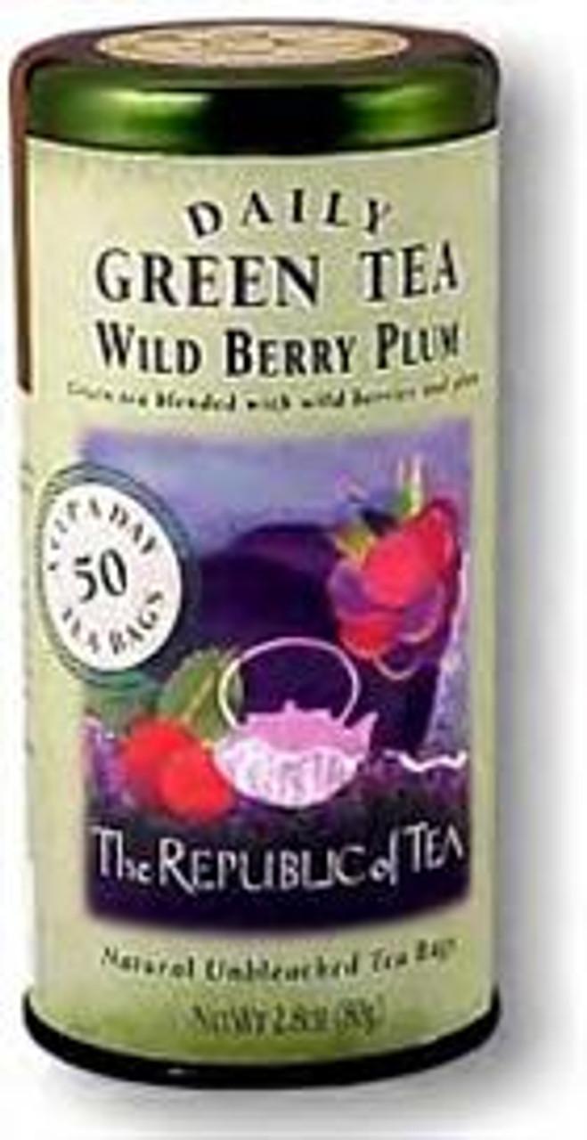 Wild Berry Plum Green Tea