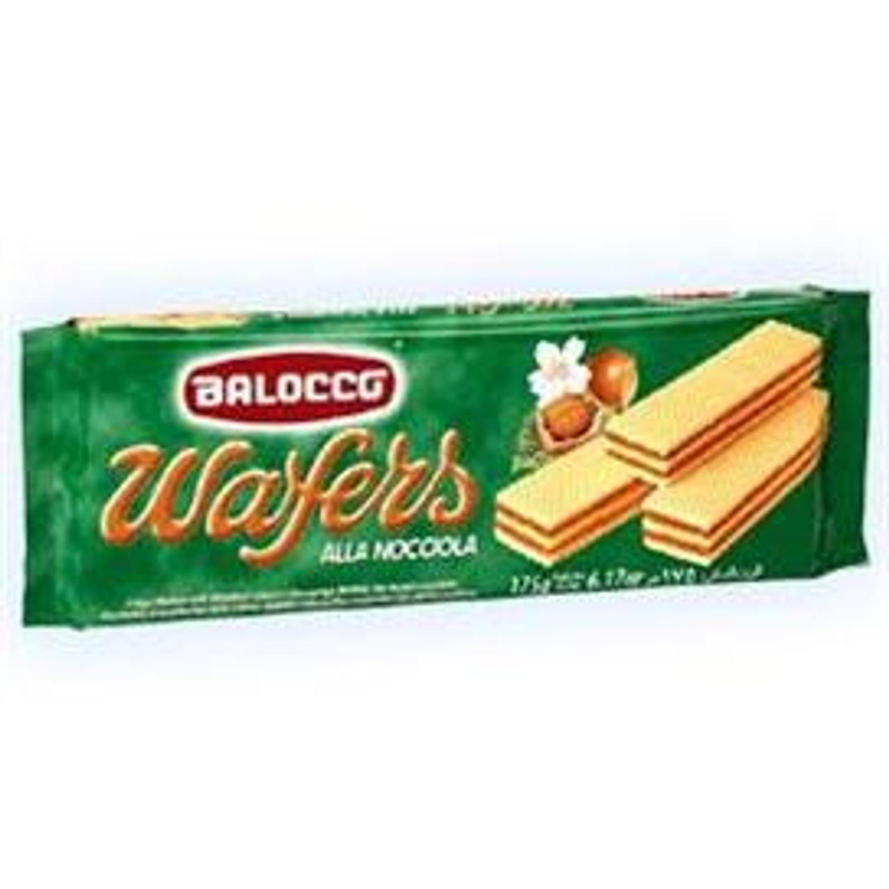 Hazelnut Wafers