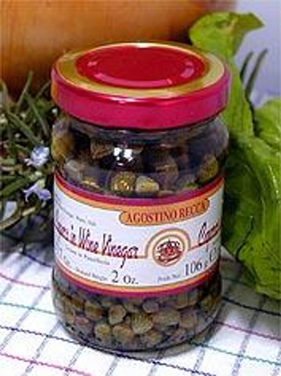 Capers in Wine Vinegar