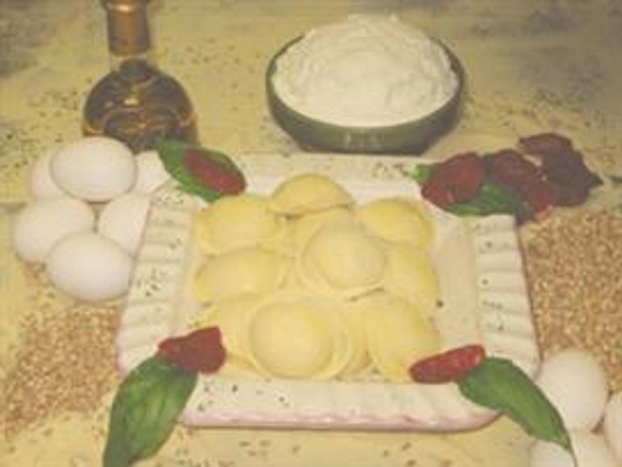 Mushroom Ravioli (Large Round)