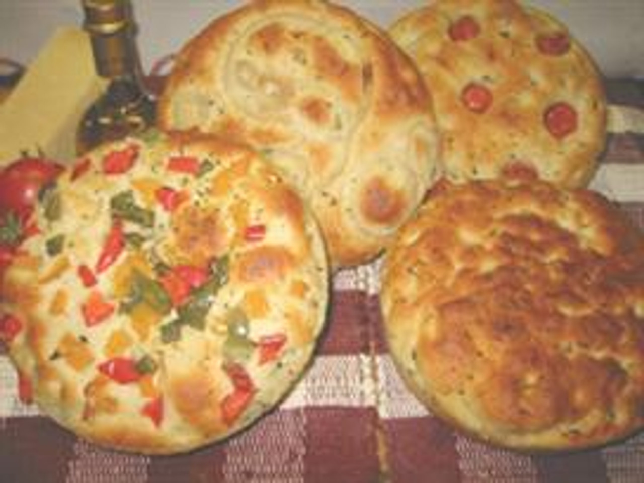 Own Fresh Baked Fresh Pepper Foccacia