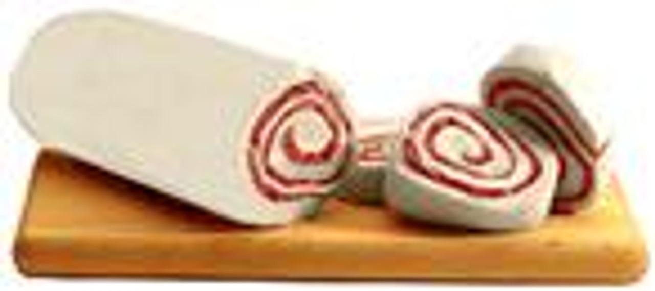 Fresh Mozzarella Roll w/ Prosciutto