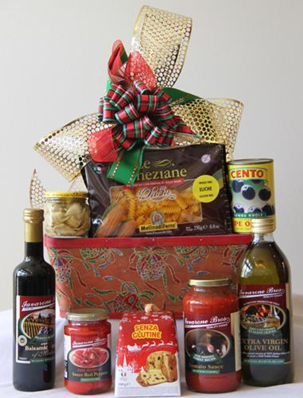 Gluten free italian gift basket