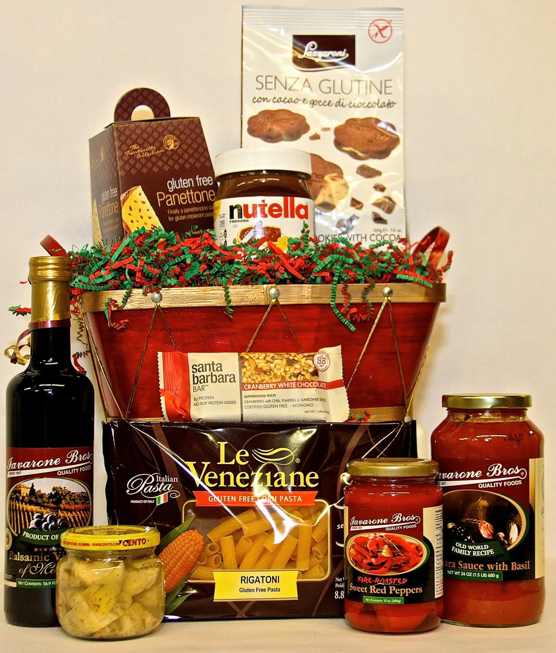 Gluten free christmas basket ibfoods gluten free gift baskets negle Images