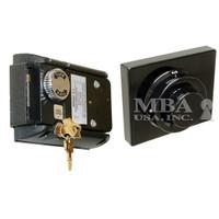 S&G 2890 PEDESTRIAN DOOR LOCK W/MOUNTING PLATE & STRIKE