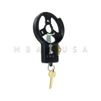 S&G DIAL RING - R132, SPY PROOF, BLACK & WHITE, KEYLOCKING