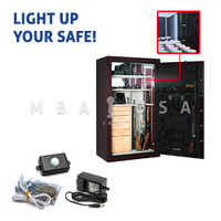 HIWL 120 LED SAFE LIGHT KIT w/ BUILT-IN MOTION SENSOR