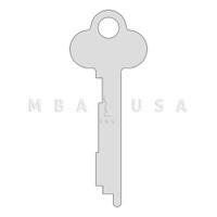 1028P Guard Key for 175 Series SD Locks