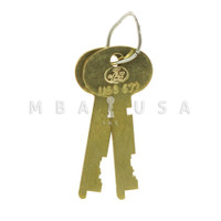 Renter Keys, Pair, 4500, 1/2""
